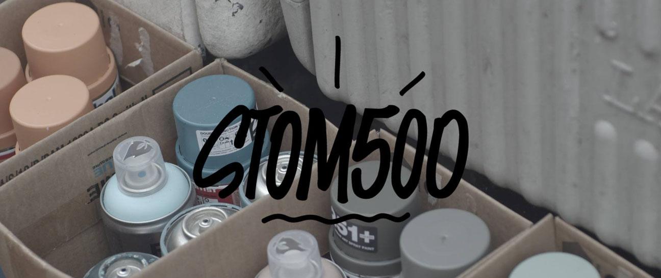 Le Mur DIJON #03 – Stom 500